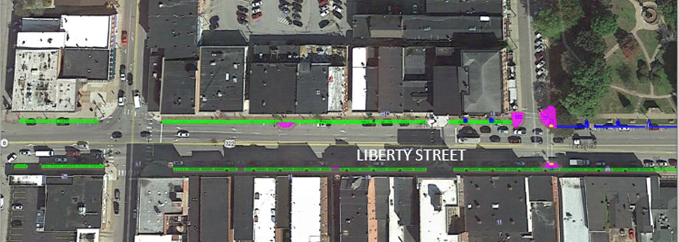 Liberty Street Sidewalk Project